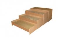 Кровать-тумба 3-х ярусная выкатная, ЛДСП, 1520*672*890 мм_2