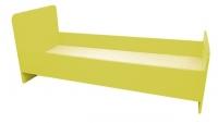 Кровать 1-но ярусная, ЛДСП, 1432/1232*600*636 мм_1