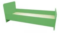 Кровать 1-но ярусная, ЛДСП, 1432/1232*600*636 мм_2