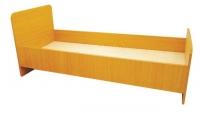 Кровать 1-но ярусная, ЛДСП, 1432/1232*600*636 мм_3