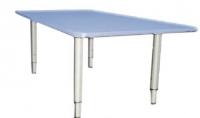 Стол квадратный регулируемый, ЛДСП, 700*700*400-580 мм_1