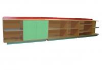 Стеллаж «Игрушка», ЛДСП, 3420*420*600 мм_1