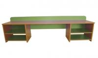 Стол для  детского творчества, ЛДСП, 1700*600*450 мм_1