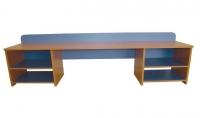 Стол для  детского творчества, ЛДСП, 1700*600*450 мм_2