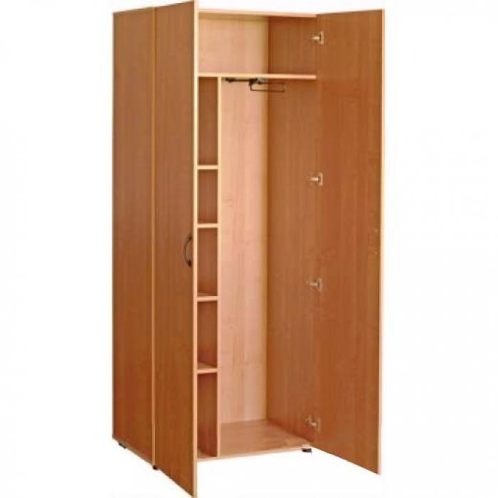 Шкаф для одежды комбинированный, ЛДСП, 850*400*1830 мм