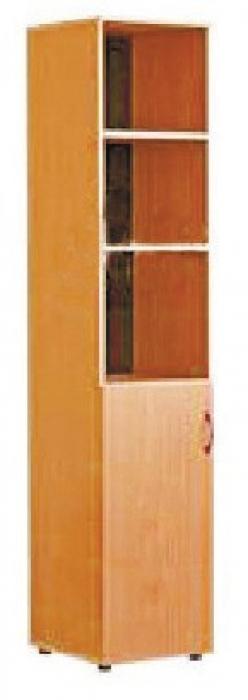 Шкаф для пособий узкий, ЛДСП, 432*400*1830 мм