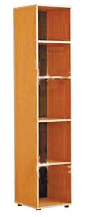 Шкаф - стеллаж узкий, ЛДСП, 432*400*1830 мм