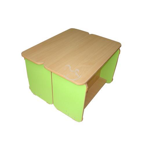 """Кровать - стол """"Трансформер"""", ЛДСП, 1200/1400 мм_1"""