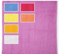 Полотенце махровое цветное/однотонное , 40*70_1