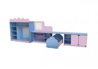 Уголок ряженья со спальней, ЛДСП, 3150*850*420 мм