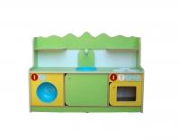 Кухня «Золушка»,  ЛДСП, пластик 1290*850*420 мм