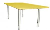 Стол прямоугольный, регулируемый по высоте, ЛДСП, 900*450*400-580 мм_4