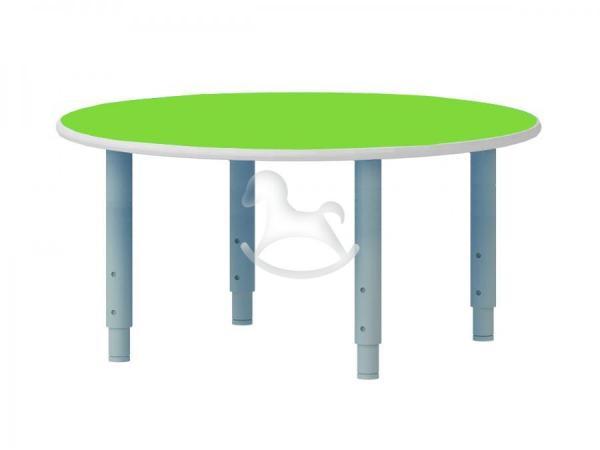 Стол круглый, регулируемый по высоте, ЛДСП, 900*900*400-580 мм_2