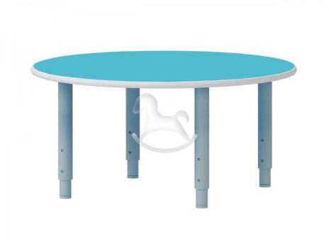 Стол круглый, регулируемый по высоте, ЛДСП, 900*900*400-580 мм