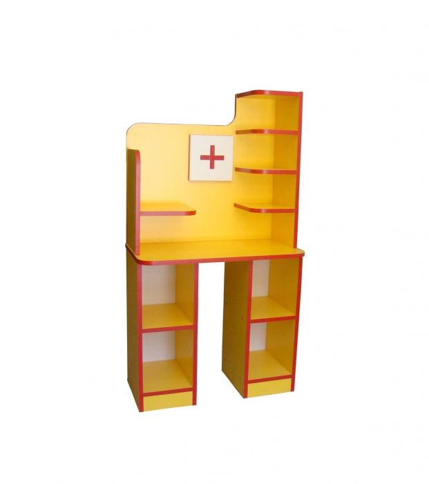 "Медицинский уголок ""Айболит"", ЛДСП, 640*330*1190 мм"
