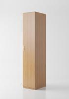 Гардероб «Круиз 400» одна дверь с штангой 520мм_3