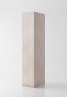 Гардероб «Круиз 400» одна дверь с штангой 520мм_1