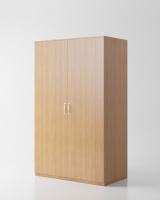 Гардероб «Круиз 900» двухдверный с штангой, 900*520*2000 мм_2