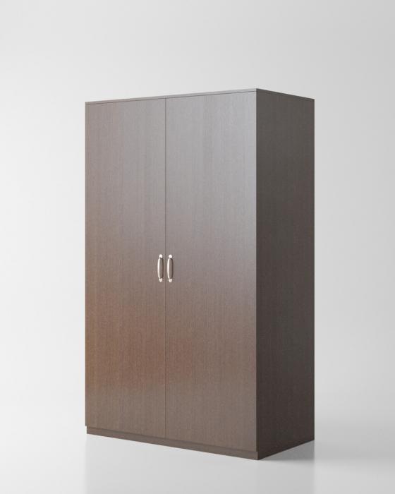 Гардероб «Круиз 900» двухдверный с штангой, 900*520*2000 мм