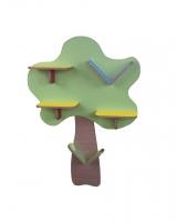 "Полка навесная ""Дерево"", ЛДСП, 1000*200*1400 мм"
