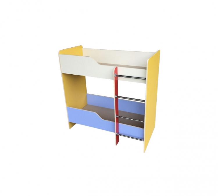 Кровать двухэтажная, ЛДСП, 1428*632*1400